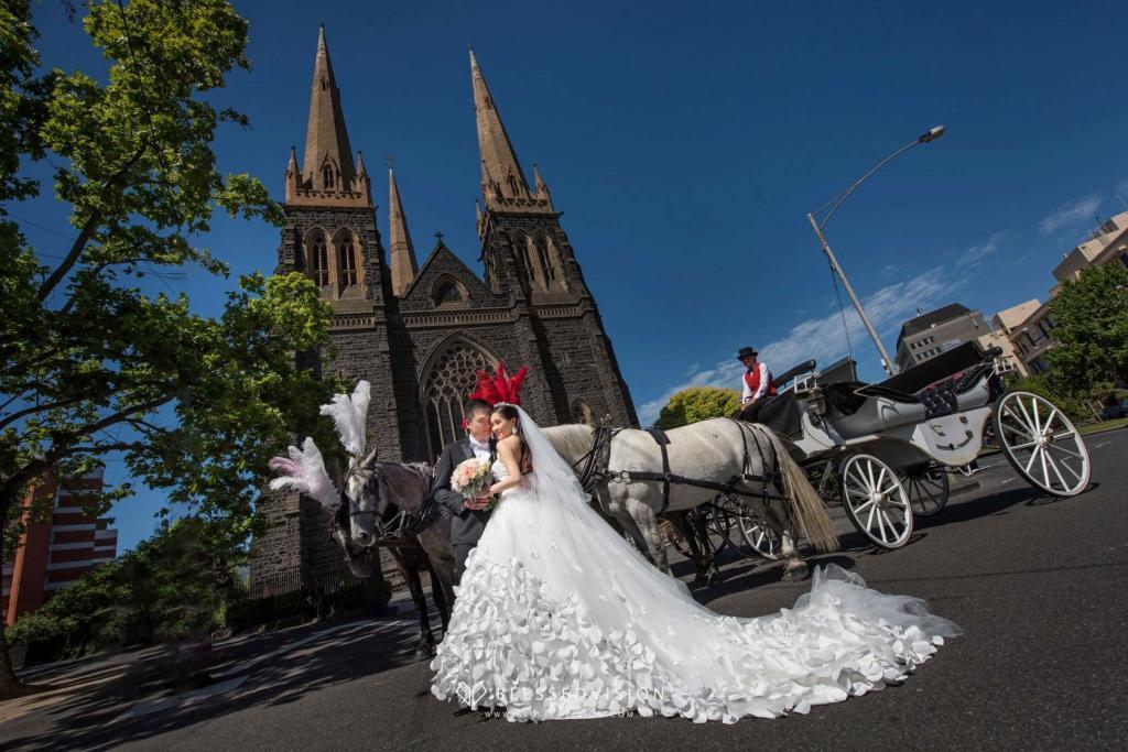 Vintage Horse Carriage retro Prewedding Wedding Photography Melbourne Sydney Australia (3 of 21)