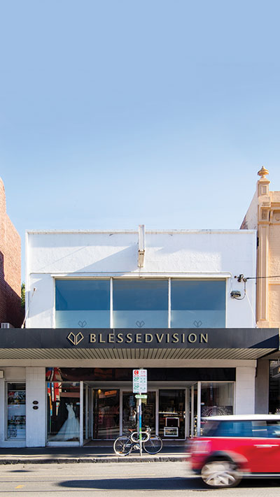 Blessed Vision Shop Front